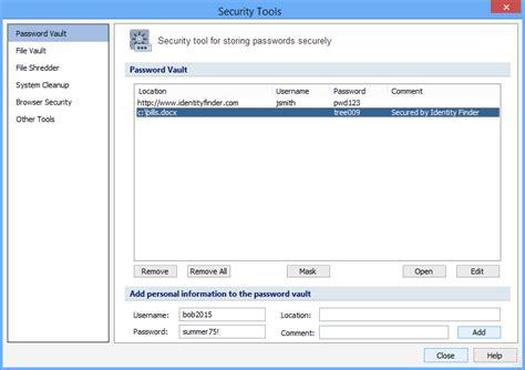Password Vault Tool