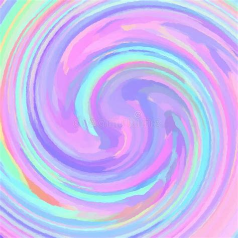 Pastel Colored Swirl Background For Your Design Stock ...