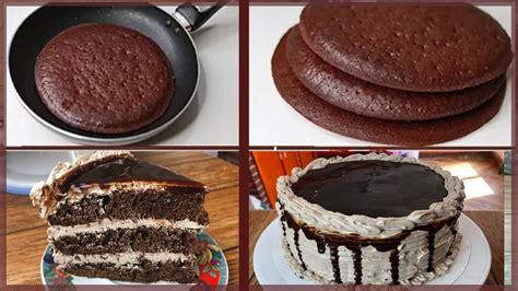 Pastel de chocolate en sartén muy fácil y delicioso   YouTube