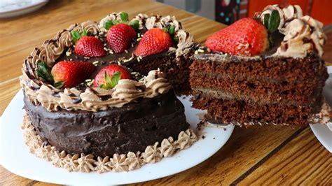 Pastel de chocolate SIN HORNO  el mejor de todos  receta ...