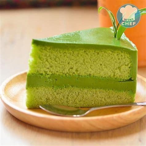 Pastel de Té Verde | WikiChef