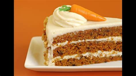 Pastel de zanahoria con betun de queso crema   YouTube
