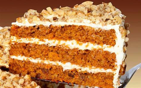 Pastel de zanahoria relleno de crema de queso   Recetín