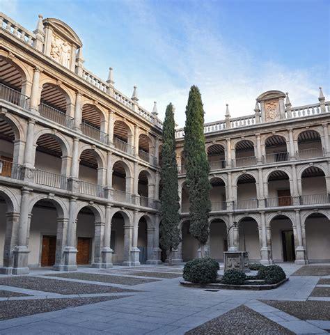 Patio de Santo Tomas de Villanueva | Colegio Mayor de San ...