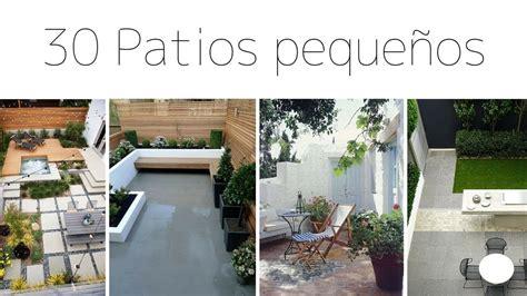 PATIOS / JARDINES PEQUEÑOS | 30 IMÁGENES PARA INSPIRACIÓN ...