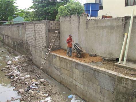 Patologías más comunes sufridas por muros de contención ...