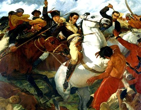 Patriot Day  Battle of Carabobo   published by Alexander ...