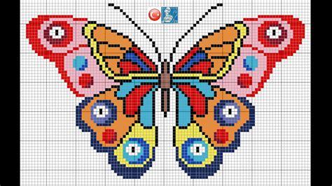 Patrones para punto de cruz especial mariposas II ...