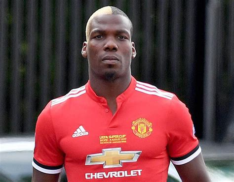 Paul Pogba s brother Mathias spotted in Manchester United ...