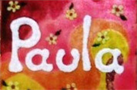 Paula: SigNificaDo De PaUla