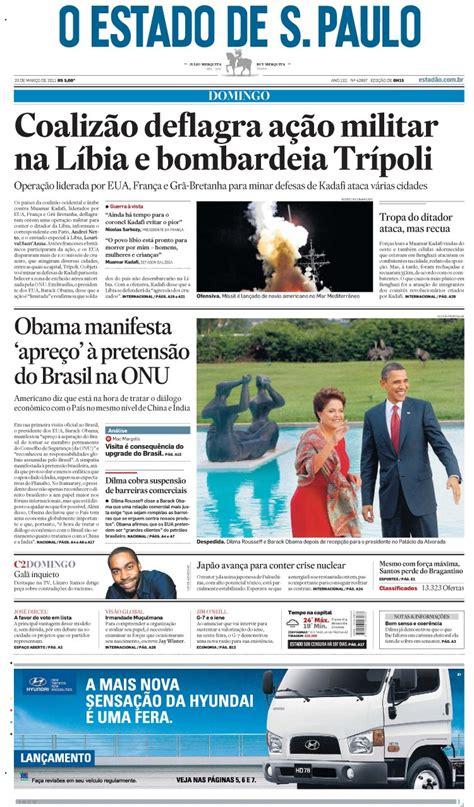 Paulo Alves Design: Jornal Estado de São paulo / Revista ...