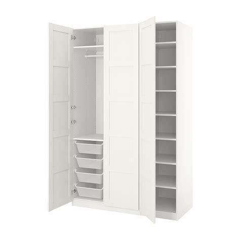 PAX Armario, blanco, Bergsbo blanco, 150x60x236 cm   IKEA