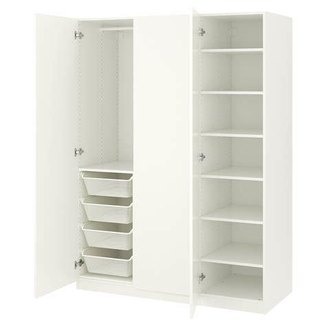 PAX Armario, blanco, Forsand blanco 150x60x201 cm   IKEA