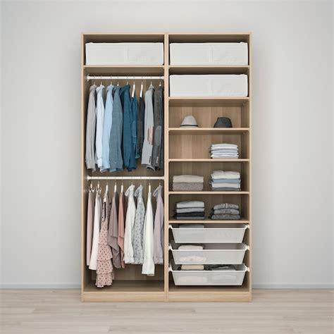 PAX Armario   Hasvik, efecto roble tinte blanco   IKEA