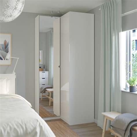 PAX Corner wardrobe   white, Fardal Vikedal   IKEA