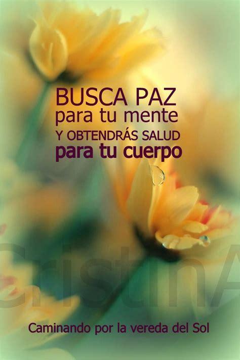 Paz y Armonia   Frases motivadoras, Buenos días vida ...