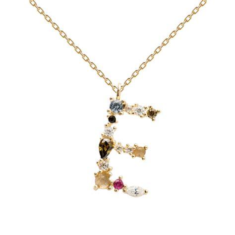 PD PAOLA | Gold Necklace  E  | 18K Gold Plating   kadonodig