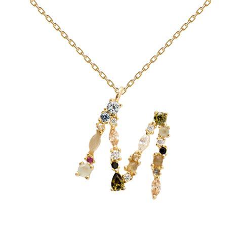 PD PAOLA | Gold Necklace  M  | 18K Gold Plating   kadonodig