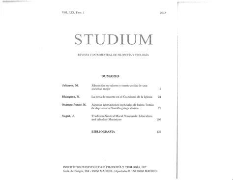 PDF  Algunas aprotaciones esenciales de Santo Tomás de ...