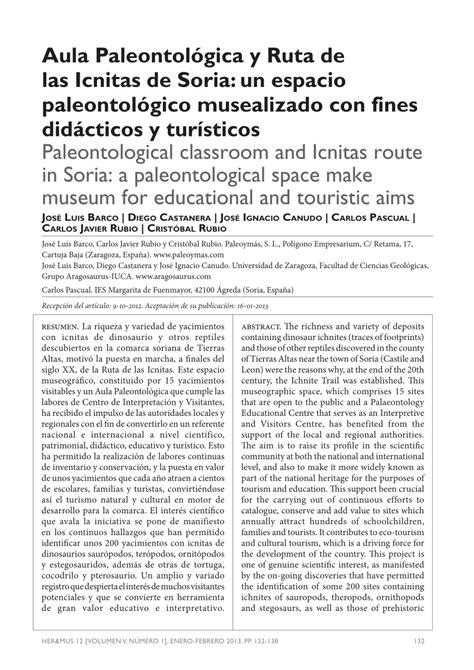 PDF  Aula paleontológica y Ruta de las Icnitas de Soria ...