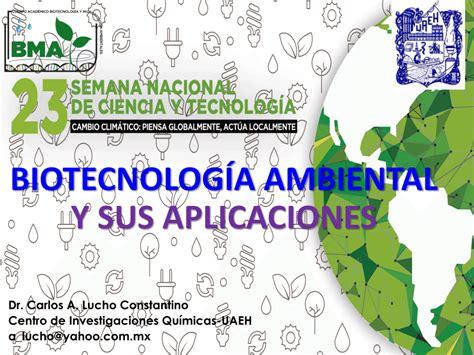 PDF  Biotecnología ambiental y sus aplicaciones Cuerpo ...