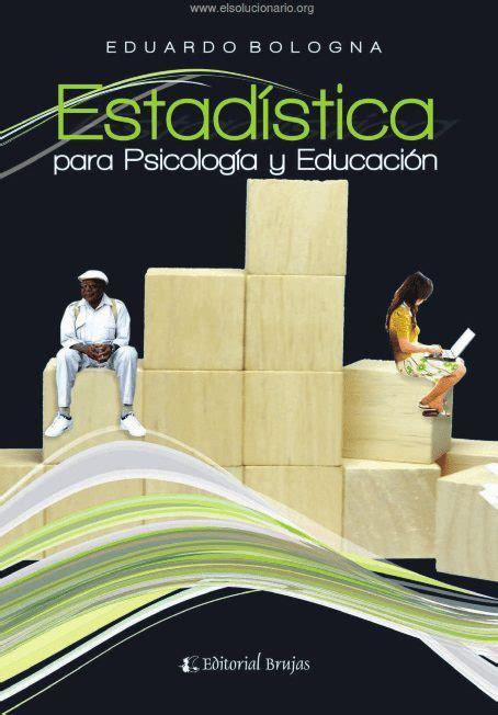 PDF  Descargar Estadística Para Psicología Y Educación ...