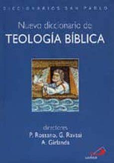 PDF Ebook Nuevo Diccionario De Teologia Biblica   PDF ...