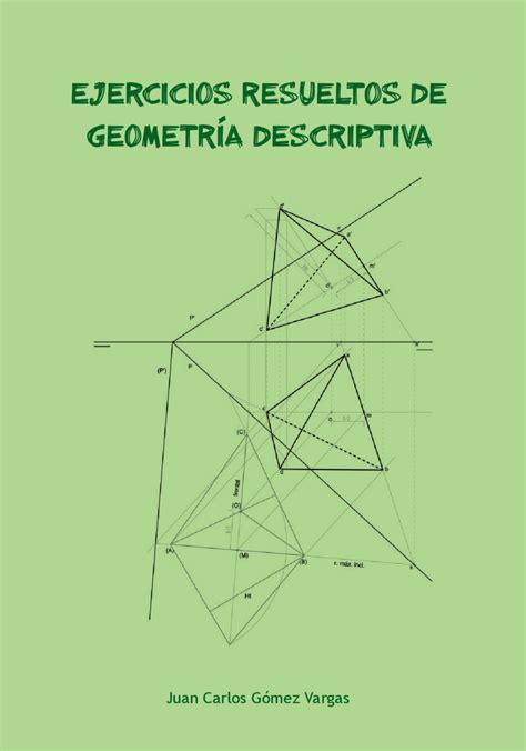 PDF  Ejercicios resueltos de Geometría Descriptiva