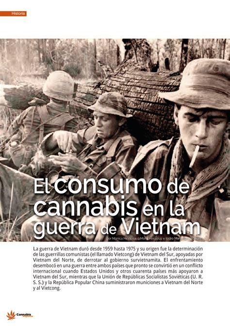 PDF  El consumo de cannabis en la guerra de Vietnam