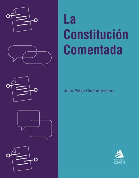 PDF  La Constitución Comentada