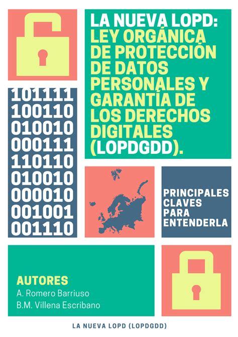 PDF  La nueva LOPD: Ley Orgánica de Protección de Datos ...