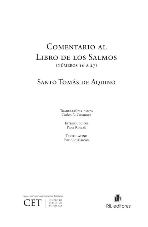 PDF  Principios exegéticos de santo Tomás de Aquino ...