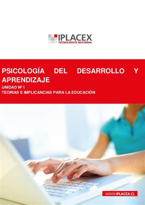 PDF  PSICOLOGÍA DEL DESARROLLO Y APRENDIZAJE UNIDAD Nº I ...