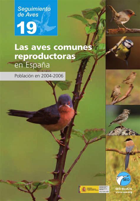 PDF  Tamaño de población de las aves comunes ...