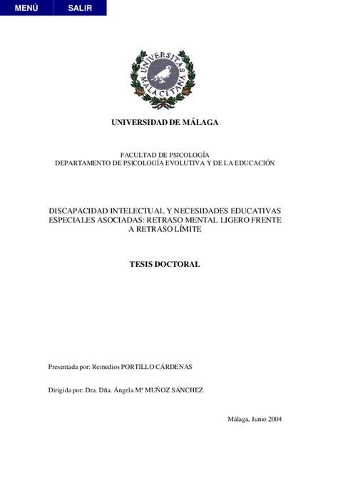 PDF  UNIVERSIDAD DE MÁLAGA FACULTAD DE PSICOLOGÍA ...