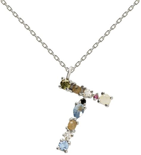 PDPAOLA Letter Necklace CO02 T desde 53,00 €   Compara ...