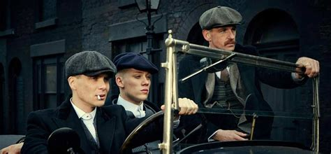 Peaky Blinders: The caps of the series.