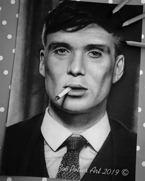 Peaky Blinders, Tommy Shelby Portrait, Thomas Shelby ...