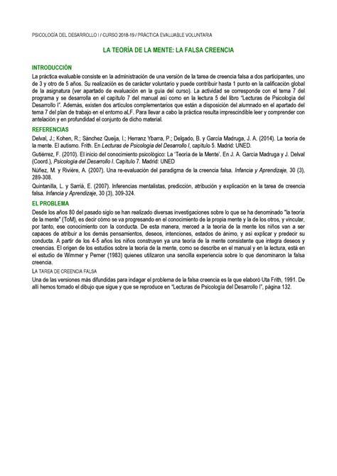 PEC Psicología del Desarrollo I PSICOLOG DEL DESARROLLO ...