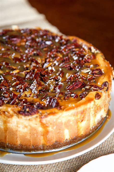 Pecan Pie Cheesecake | cheesecake  inglés  | Tartas ...