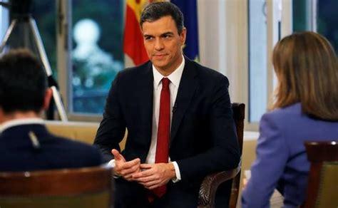 Pedro Sánchez descarta el adelanto electoral para agotar ...