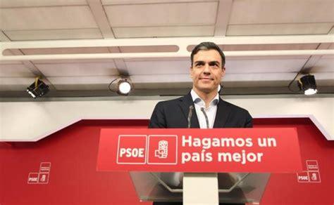 Pedro Sánchez: «El PP necesita renovar su liderazgo y ...