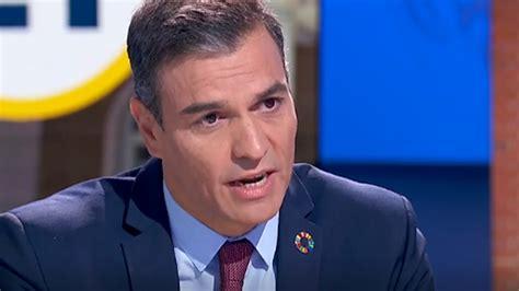 Pedro Sánchez en La 1:  En diciembre se vacunará a una ...
