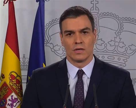 Pedro Sánchez:  Es una guerra al virus, jamás nos ...