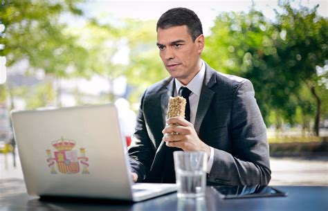 Pedro Sánchez lleva dos meses comiendo solo porque no ...