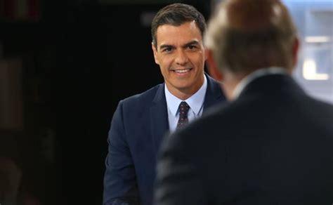 Pedro Sánchez: «No necesitamos dos gobiernos en uno» | El ...
