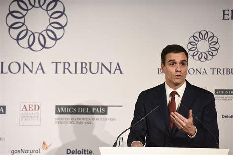 Pedro Sánchez Pérez Castejón   Barcelona Tribuna