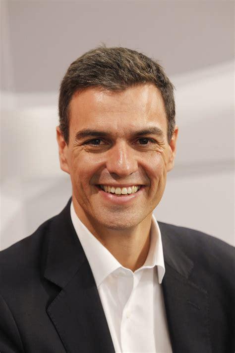 Pedro Sánchez Pérez Castejón, Secretario General   PSOE ...