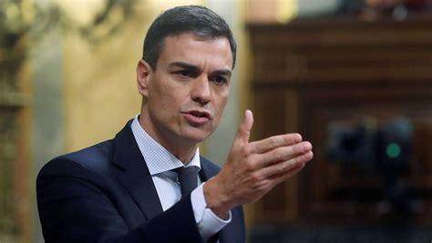 Pedro Sánchez, presidente del Gobierno más minoritario de ...