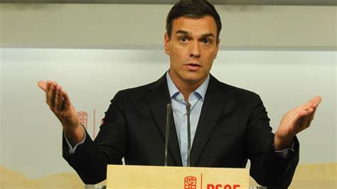 Pedro Sánchez reta a los críticos a dimitir hoy mismo